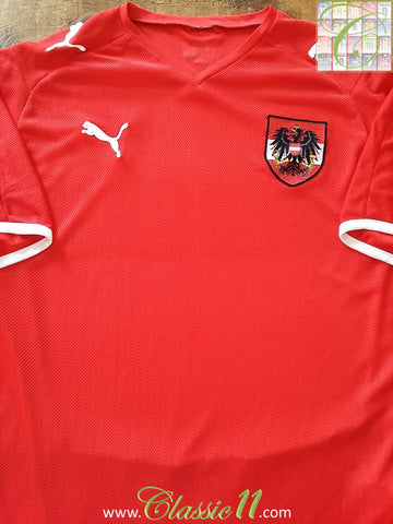 2008/09 Austria Home Football Shirt (XL)