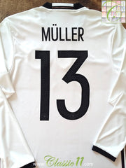 2016/17 Germany Home Football Shirt Müller #13 (S)