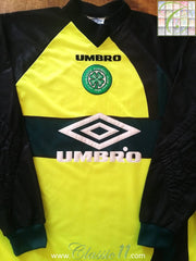1998/99 Celtic Goalkeeper Football Shirt (L)