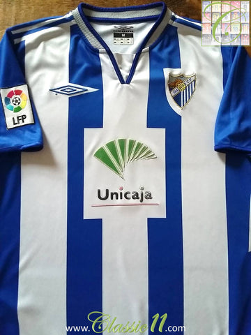 2005/06 Málaga Home La Liga Football Shirt (M)