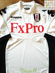 2011/12 Fulham Home Football Shirt (S)