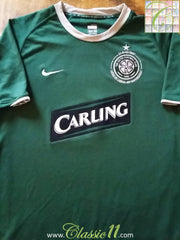 2007/08 Celtic Away Football Shirt (XXL)
