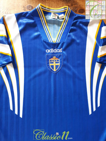 1996/97 Sweden Away Football Shirt (L)