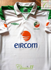 2003/04 Republic of Ireland Away Football Shirt (S)