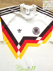 1988/89 West Germany Home Football Shirt (XL)