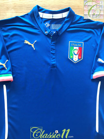 2014/15 Italy Home Football Shirt (M)