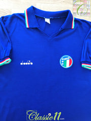 1985-86 Italy Home Football Shirt (XL)