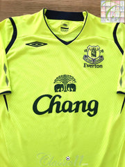 2008/09 Everton 3rd Football Shirt (L)