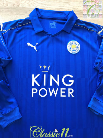 2016/17 Leicester City Home Football Shirt. (XL) *BNWY*