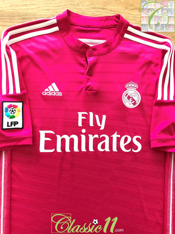 2014/15 Real Madrid Away La Liga Football Shirt (L)