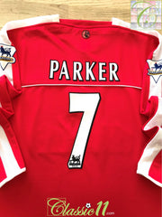 2003/04 Charlton Home Premier League Football Shirt. Parker #7 (XL)