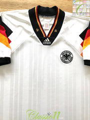 1992/93 Germany Home Football Shirt (XL)