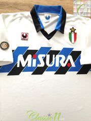 1989/90 Internazionale Away Football Shirt (XL)