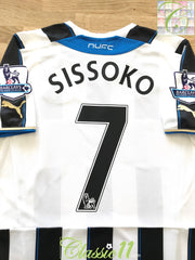 2013/14 Newcastle United Home Premier League Football Shirt Sissoko #7 (S)