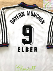 1997/98 Bayern Munich Away Football Shirt Elber #9 (XL)