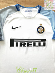 2017/18 Internazionale Away Football Shirt (L)
