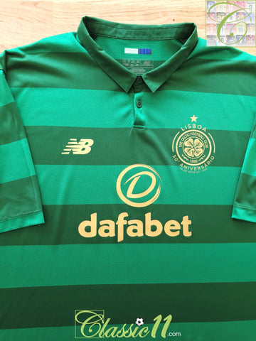 2017/18 Celtic Away Football Shirt (XXL)