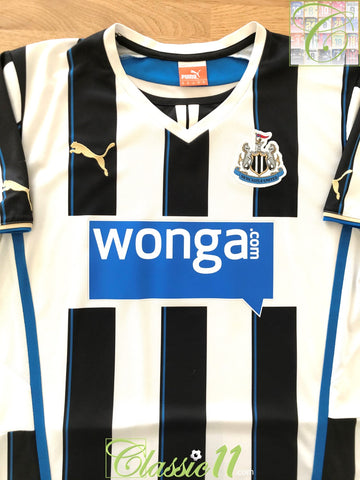 2013/14 Newcastle United Home Football Shirt (M)
