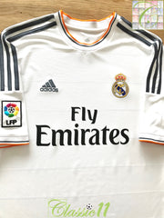 2013/14 Real Madrid Home La Liga Football Shirt (XL)