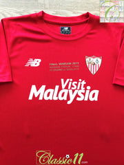 2015 Sevilla Europa League Final Football Shirt (S)