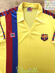 1984/85 Barcelona Away Football Shirt (XL)