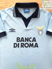 1995/96 Lazio Home Football Shirt (Y)