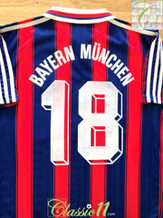 1995/96 Bayern Munich Home Football Shirt #18 (S)