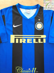2008/09 Internazionale Home Basic Football Shirt (S)