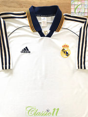 1998/99 Real Madrid Home Football Shirt. (M)