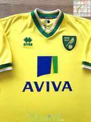 2011/12 Norwich City Home Football Shirt (L)