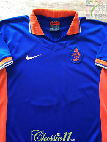 1997/98 Netherlands Away Football Shirt (L)