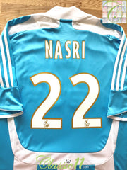 2007/08 Marseille Away Ligue 1 Football Shirt Nasri #22 (L)