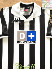 1998/99 Juventus Home Football Shirt (XL)