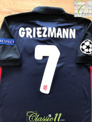 2015/16 Atlético Madrid Away Champions League Football Shirt Griezmann #7 (S)