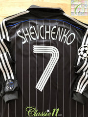2006/07 Chelsea 3rd Champions League Football Shirt. Shevchenko #7 (M)
