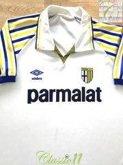 1990/91 Parma Home Football Shirt (XL)