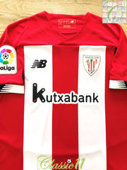 2019/20 Athletic Bilbao Home La Liga Football Shirt (S)