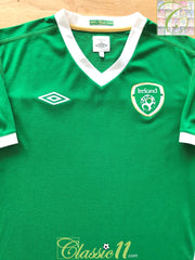 2010/11 Republic Of Ireland Home Football Shirt (L)