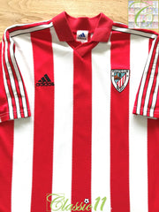 1999/00 Athletic Bilbao Home Football Shirt (Y)