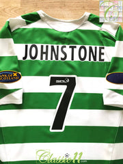 2005/06 Celtic Home SPL Football Shirt Johnstone #7 (XL)
