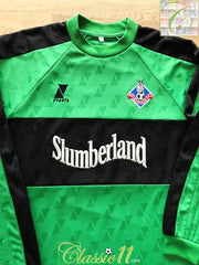 2000/01 Oldham Athletic Goalkeeper Football Shirt (XL)