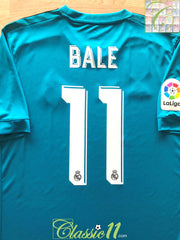 2017/18 Real Madrid 3rd World Champions Football Shirt Bale #11 (L)