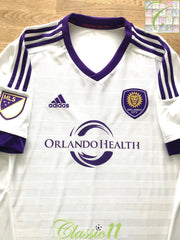 2015 Orlando City Away MLS Football Shirt (XL)