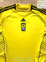 2010/11 Scotland Goalkeeper Formotion Football Shirt (S)