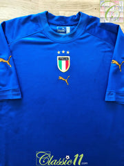 2004/05 Italy Home Football Shirt (L)