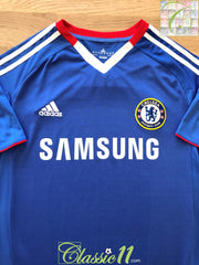 2010/11 Chelsea Home Football Shirt (M)