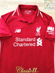 2018/19 Liverpool Home Football Shirt (XL)
