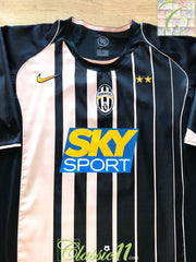 2004/05 Juventus Away Football Shirt (XL)