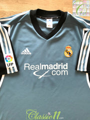2001 Real Madrid 3rd La Liga Football Shirt (XL)