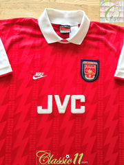 1994/95 Arsenal Home Football Shirt (L)
